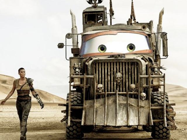 The Vehicles of Mad Max: Fury Road, With the Eyes of Pixar's Cars