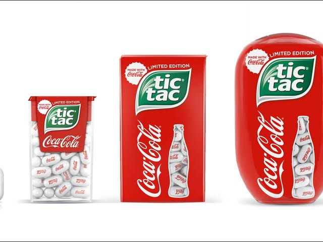 Tic Tac's new Coca-Cola flavor reminds us Tic Tacs exist [Updated]