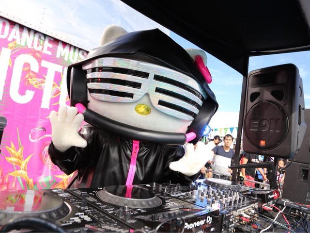 "DJ Hello Kitty Opens With ""Motherf**kers"""