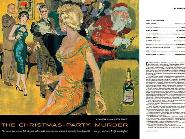 Nero Wolfe - Fiesta de Navidad