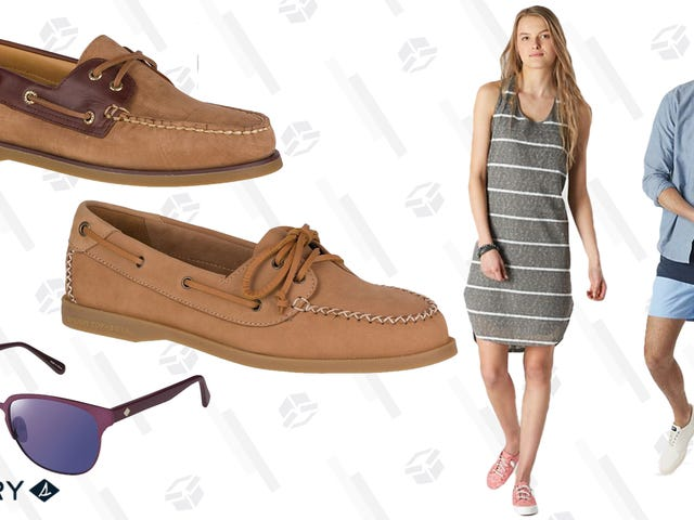 Sperry's Semi-Annual Sale is Here, With Up to 50% Off Hundreds of Items
