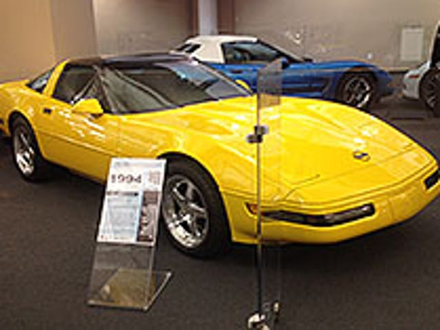 So a car that was in my family is on display at the national vette museum