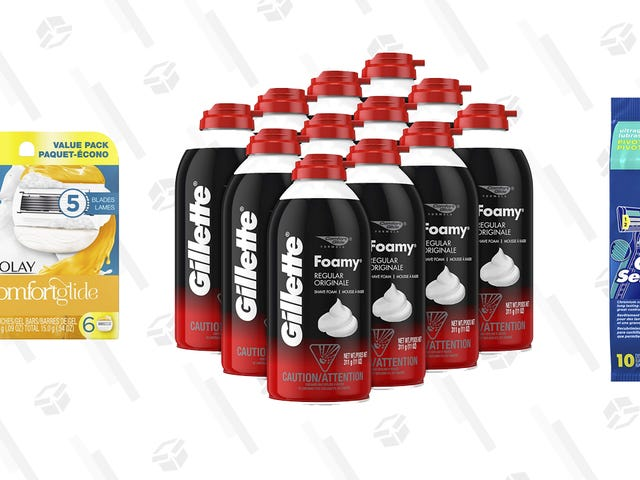 Gillette Shaving Products Are 30% Off