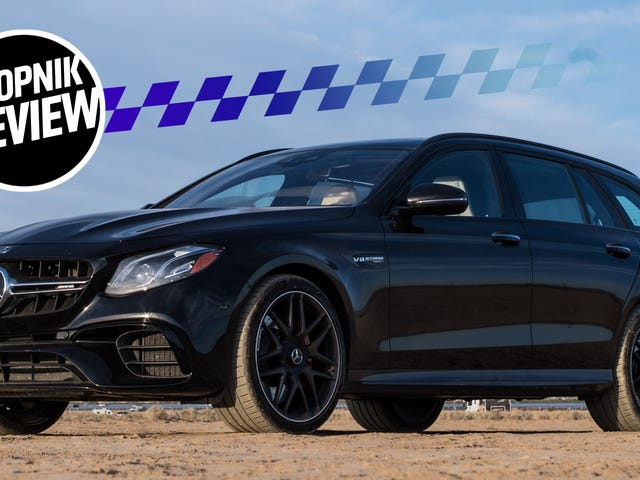 Here's Why The 2018 Mercedes-AMG E63 S Wagon Is Still The God King Of Cars