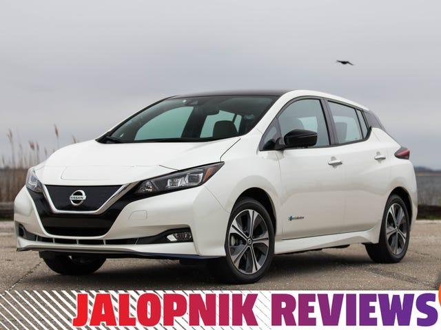 Nissan Leaf Plus 2019 Membawa Jangkauan Dan Kesenangan