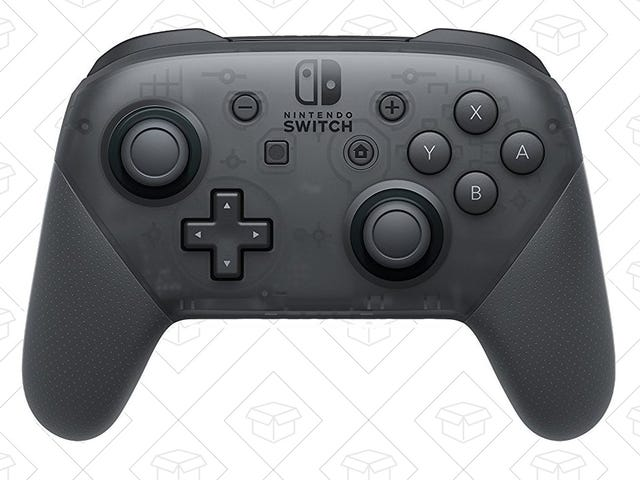 Save On the Switch Pro Controller, Or An Extra Set of Joy-Con