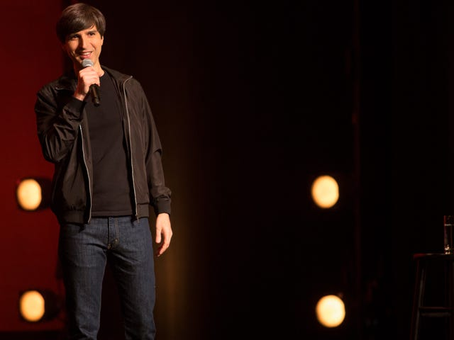 Demetri Martin's amiable cleverness can't energize The Overthinker