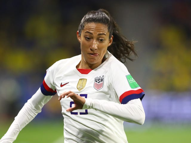 "Christen Press On Her Ill-Conceived Partnership With Barstool Sports: ""I Wasn't Familiar With The Site"""