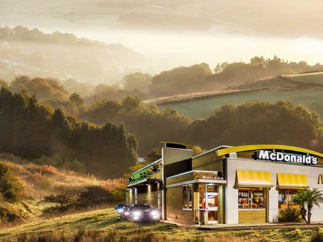 McDonald's out to ensure every last Englishman has access to Big Macs