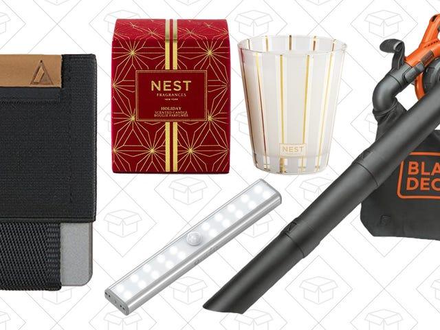 周六的最佳交易:黑+德克尔,巢蜡烛,极简主义钱包,等等