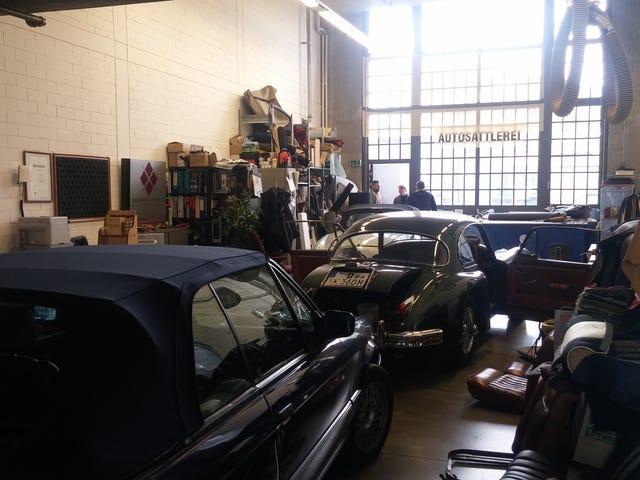 Dusseldorf Classic Car Remise Photodump