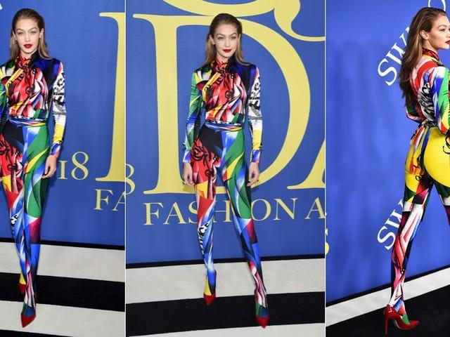 Gigi Hadid's CFDA Awards Look Is a Harlequin Romance