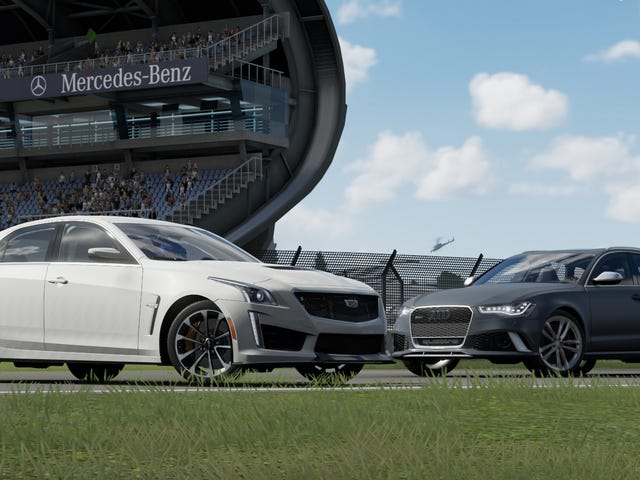 Home Cooked vs. Forbidden Fruit - Cadillac CTS-V vs. Audi RS6 Avant - The Oppo/Forza Comparison