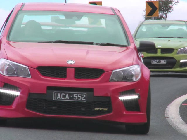 Chris Harris on the Cars: HSV Maloo GTS