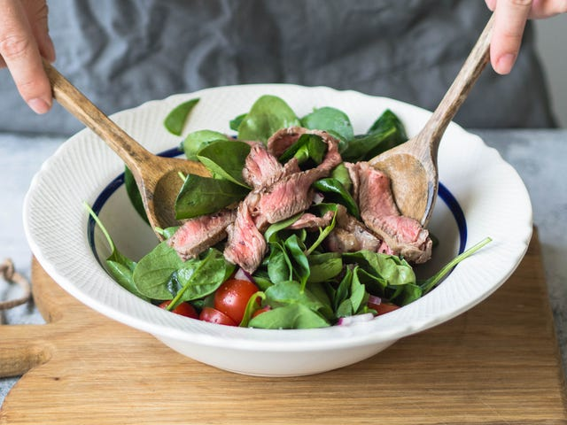 The Best Way to Prep Leftover Meat for a Salad