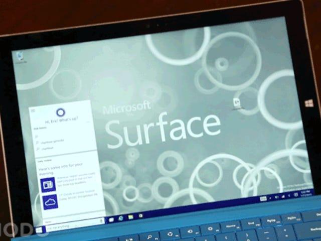 Ang mga laro sa Windows 10, sa 5 GIFs animados