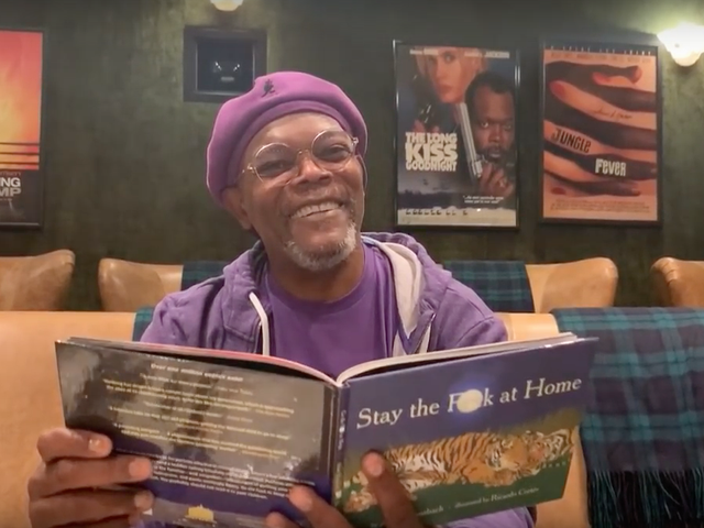 Samuel L. Jackson's Spirited Reading of 'Stay The F**k' At Home' Should Brighten Your Day