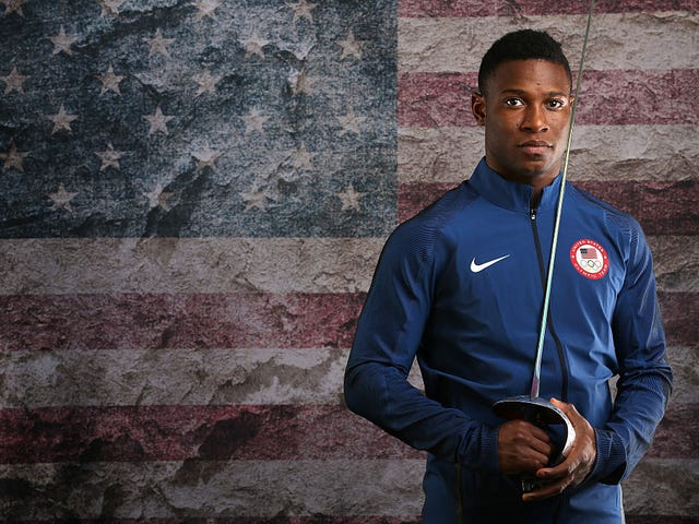 Fencer Daryl Homer Makes Olympic History, Too
