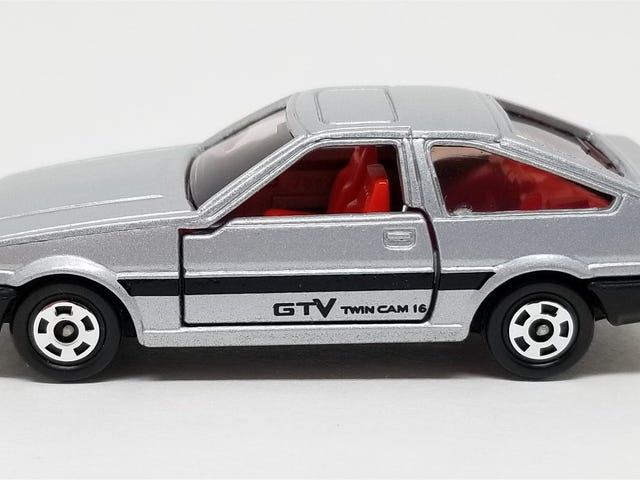 LaLD Car Week: Tomica Toyota Corolla Levin GTV