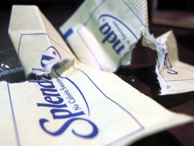 Splenda,Sweet和Low,Equal和Stevia之间的区别