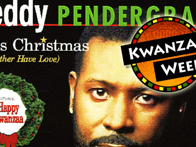 We Need To Talk About the Teddy Pendergrass Kwanzaa Carol