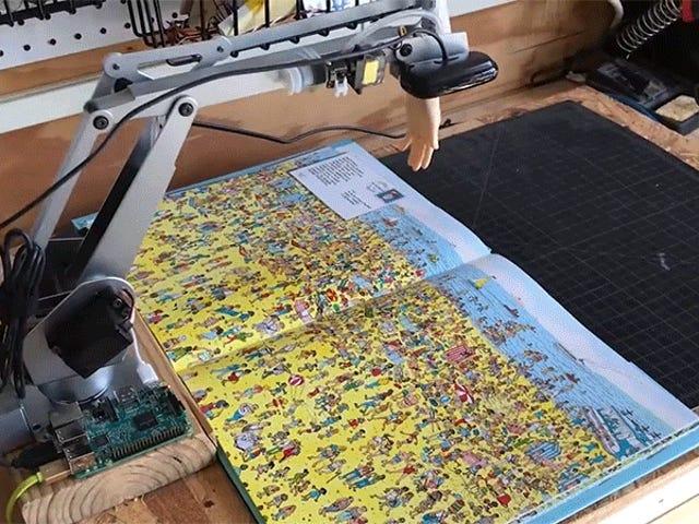 A Where's Waldo-Finding Robot è qui per rubare l'unico lavoro del tuo bambino