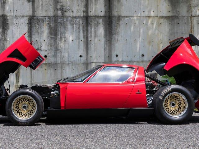Lamborghini restaurou o mais incrível Miura