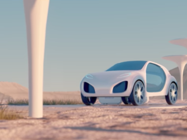 Michelin Previews Future 3D-Printed Tire Concept For A Lonely Dystopian Future