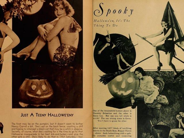 Есть причина, что вы видели так много фотографий старых звезд Голливуда в костюмах Хэллоуина