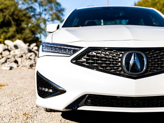The 2019 Acura ILX is a Cyclops