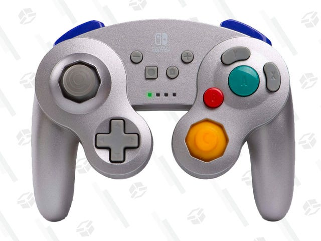 Your Joy-Con Are Holding You Back: Grab This Silver GameCube-Style Switch Controller For Just $26