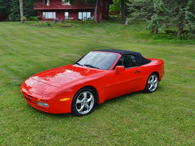 At $15,800, Will This 'Restored' 1990 Porsche 944 S2 Cab Prove a Robust Red?