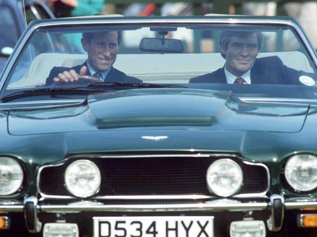 Prince Charles drives a car that (sorta) runs on white wine