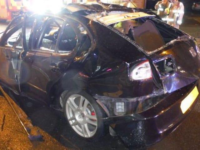 'Det var en almægtig bomme': Bileksplosion, der er opskrevet til overdreven brug af luftfriskere