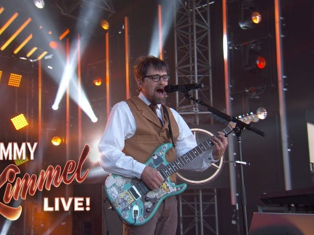 Weezer blesses the rains down in Africa
