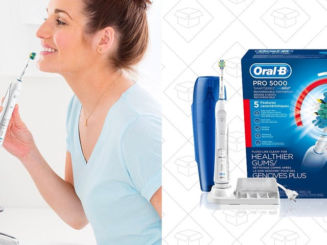Start Brushing With This Oral-B Smart Toothbrush For $55