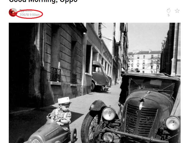 Aman Tanrım ... Oppo bir zaman makinesi üretti !!!