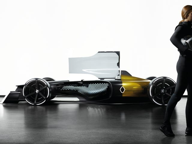 Renault's RS 2027 Vision F1 Concept Is The Wacky Light-Up Fan-Centric Future We Need