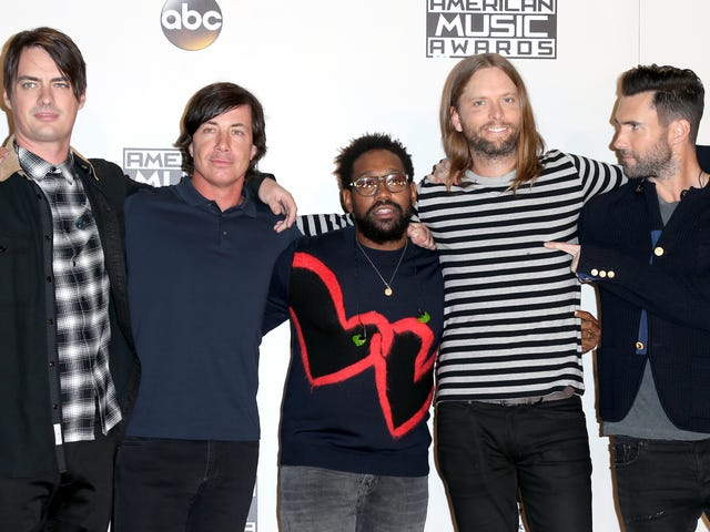NFL Picks Maroon 5 For Super Bowl in America's Biggest Black Music Scene Because... Of Course