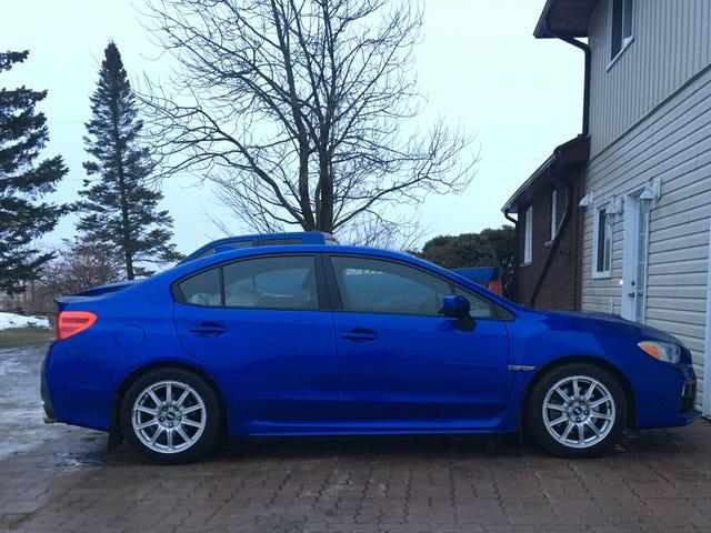 New winter wheel setup