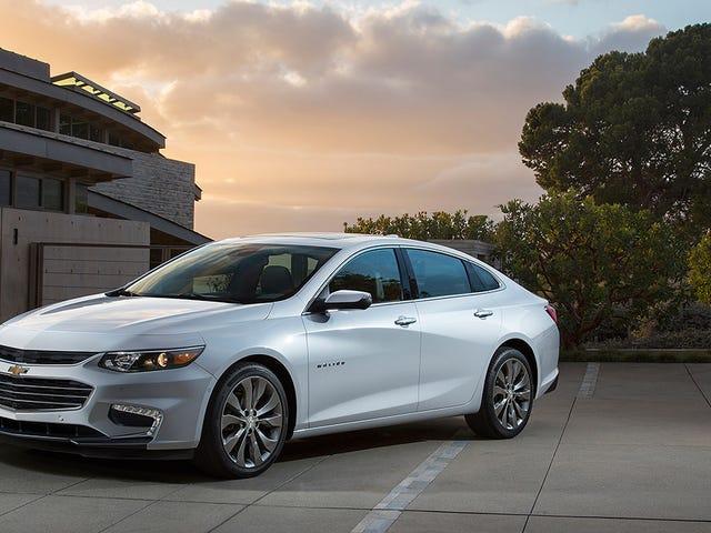 General Motors kommer inte att ge upp på Sedans