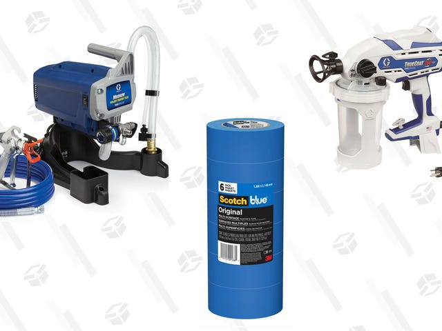 Get Up to 30% Off Select Paint Sprayers and Supplies at Home Depot