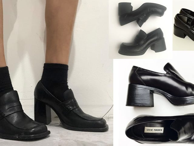 Is This Shoe OK? The Chunky Steve Madden '90s Loafer