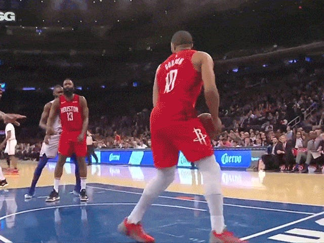 P.J. Tucker Randomly Decides The Ball Has Cooties, Refuses To Touch It