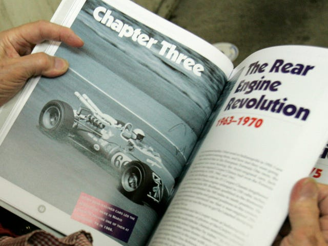Speed Readers Unite: The Jalopnik Race Car Book Club Starts Today