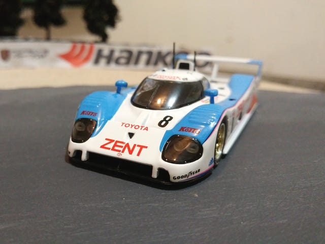 Franse vrijdag: Toyota TS010 As Raced At Le Mans in 1992