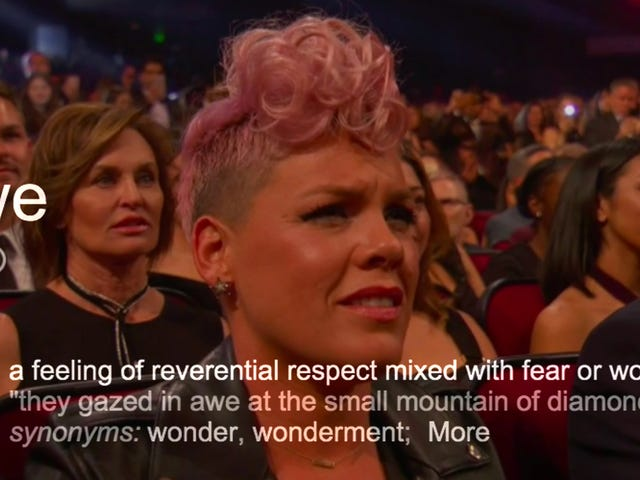 Pink Says She Absolutely Cringing During Christina Aguilera's AMAs Performance