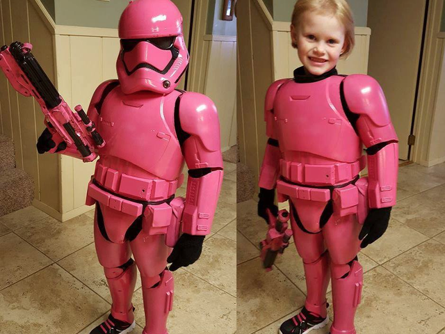 This Tiny First Order Stormtrooper Just Stole Our Hearts