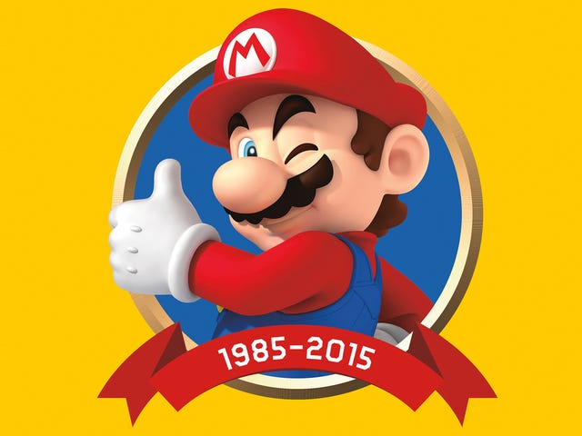 Mario Is Getting His Own Fancy Encyclopedia