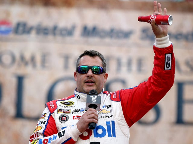 Twitter User Puts Tony Stewart In His Rear-View Mirror